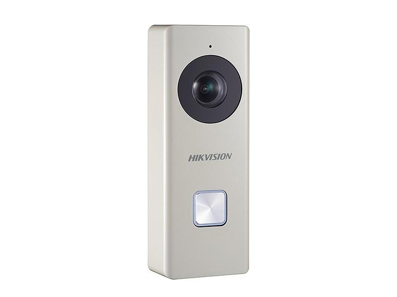 Zvonkové tlačítko s vestavěnou WiFi kamerou HIKVISION DS-KB6003-WIP