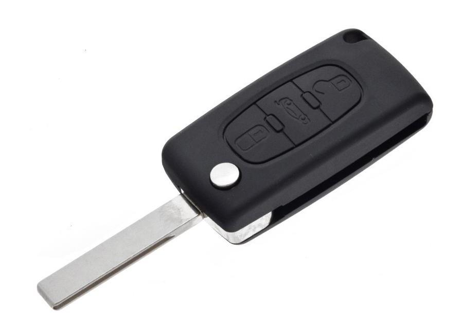 Náhradní obal klíče Citroen/Peugeot, 3-tl. C109