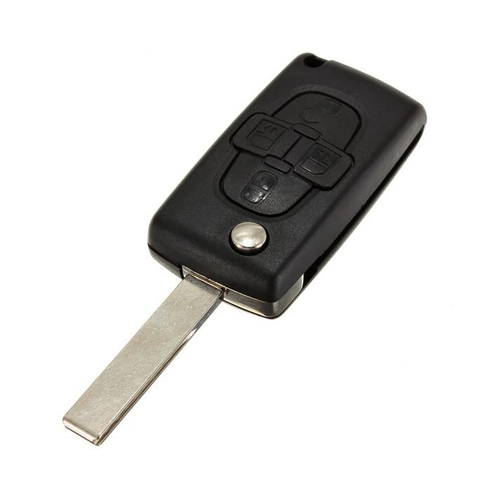 Náhradní obal klíče Citroen/Peugeot, 4-tl. C116