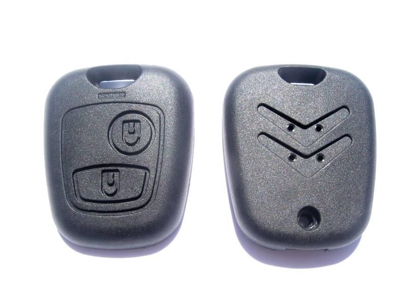 Náhradní obal klíče Citroen, 2-tlačítkový C120A