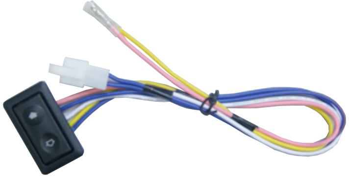 Univerzální spínač včetně rámečku a vodičů 48008A