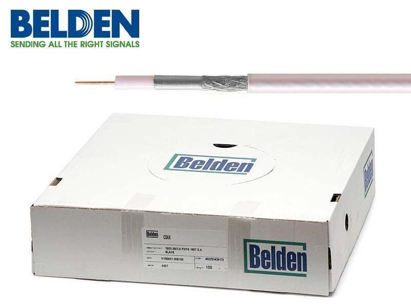 Koaxiální kabel Belden H125 Al PVC 100m