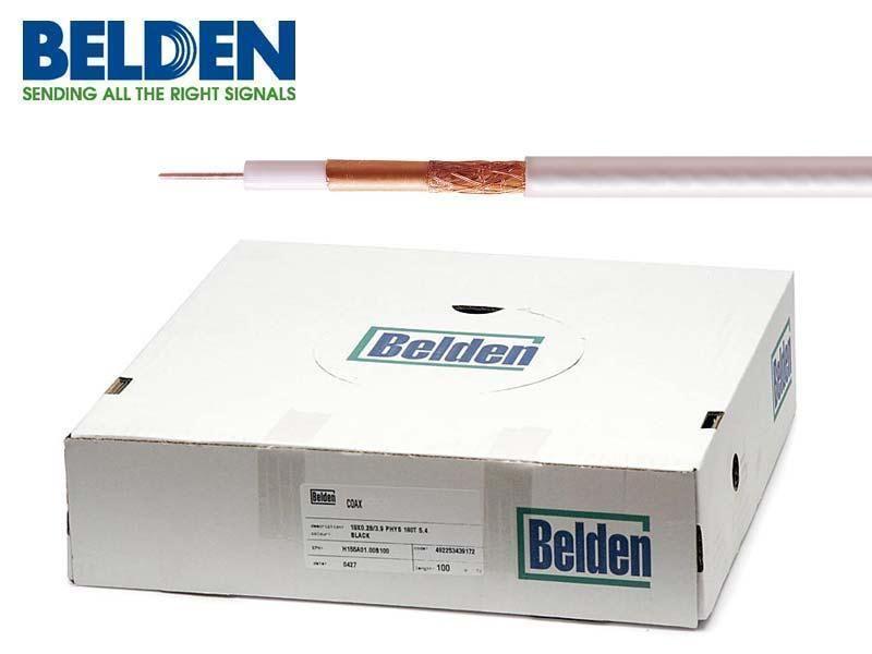 Koaxiální kabel Belden H125 Cu PVC 100m