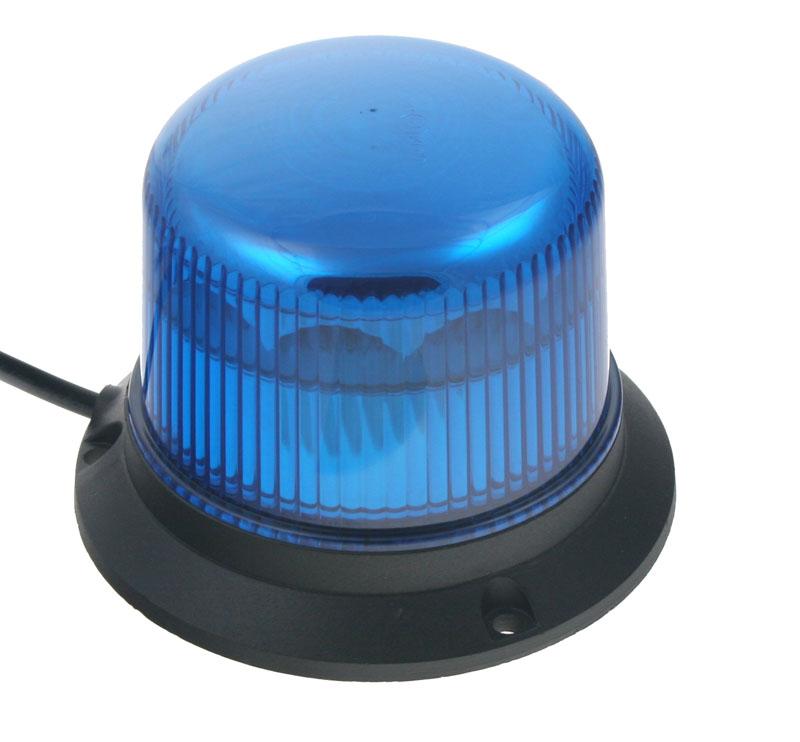 PROFI LED maják 911-E30fblue, 12-24V 10x3W modrý ECE R65