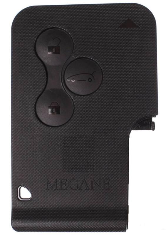 Náhradní obal karty Renault Megane, 3-tl. RE116M
