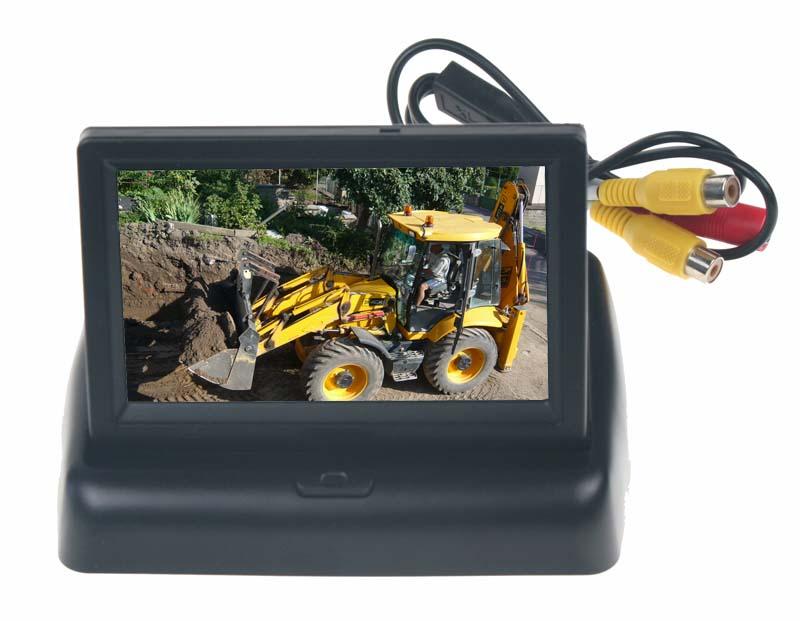 """Výklopný LCD monitor 4,3"""" na palubní desku 80055B"""