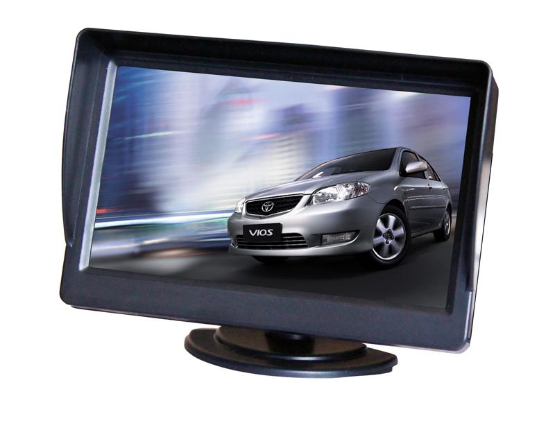 """LCD monitor 4,3"""" na palubní desku 80060"""