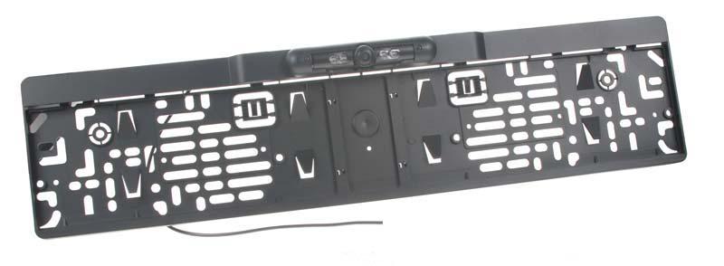 Parkovací kamera integrovaná v podložce pod SPZ c-ccdspz03N