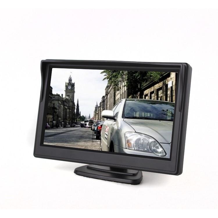 LCD monitor 5'' na palubní desku / sklo TFT M05