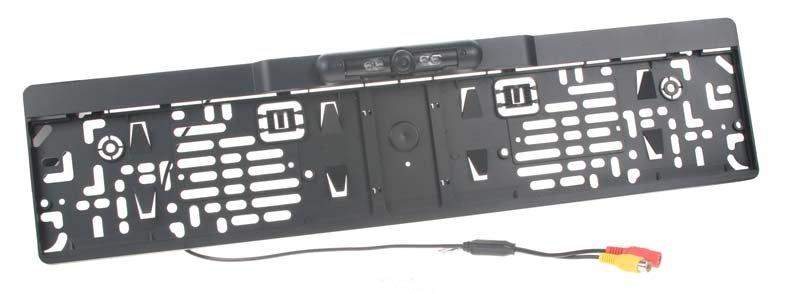 Parkovací kamera integrovaná v podložce pod SPZ c-ccdspz03
