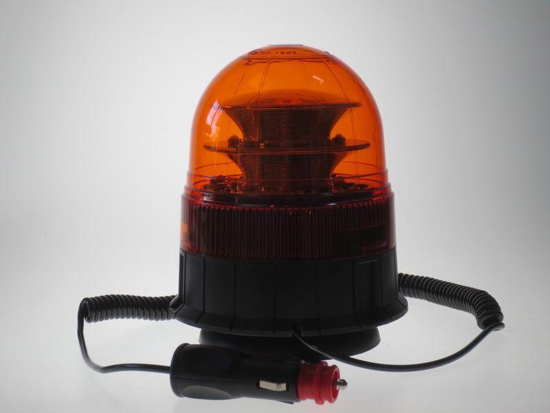 LED maják oranžový 12-24 V wl84