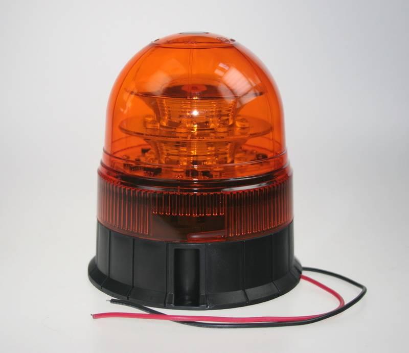 LED maják oranžový 12-24 V wl84fix