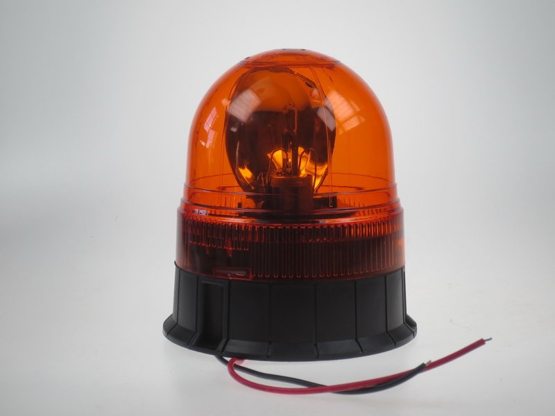 Rotační maják oranžový 12V wl84fixH1