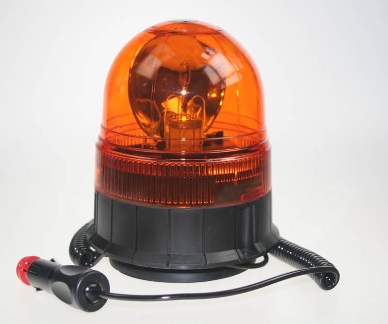 Rotační maják oranžový 12V wl84H1