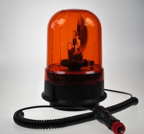 Rotační maják oranžový 12V wl86H1