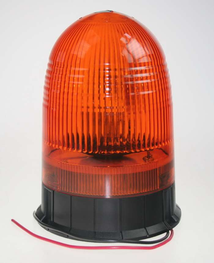 Rotační maják oranžový 12V wl88fixH1