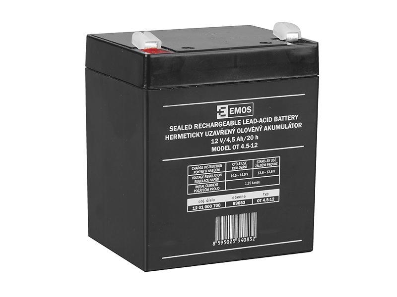 Olověný akumulátor 12V 4.5Ah