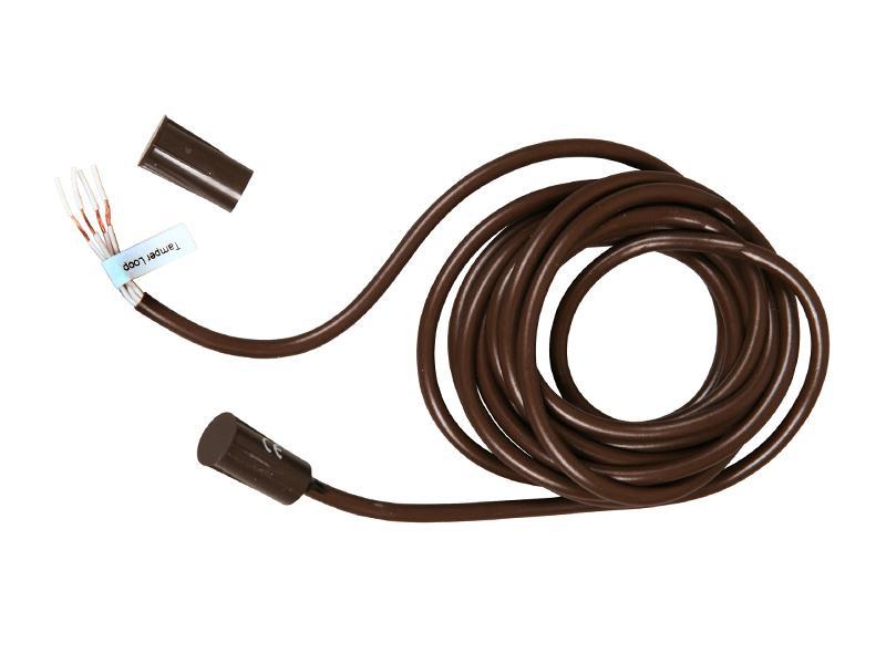 Magnetický kontakt závrtný TAP-25T hnědý