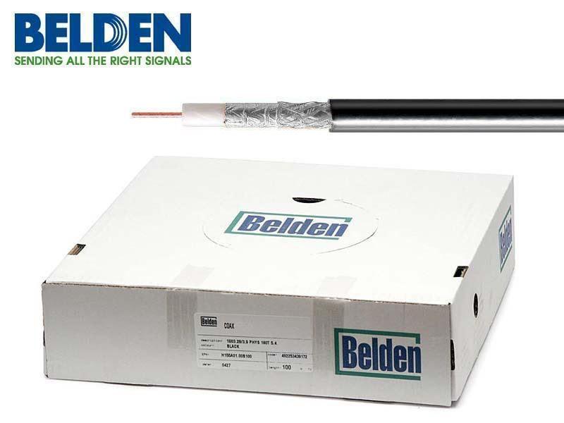 Koaxiální kabel Belden H125 Al PE 100m