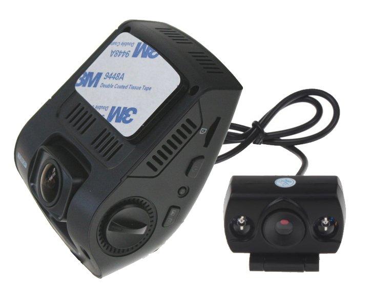 """2 kanálová plochá FULL HD kamera s 2,4"""" LCD dvrb04dual"""