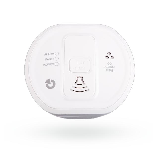 EI208W autonomní detektor CO